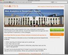 Panalysis Govt Microsite